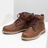Zimowe obuwie męskie za kostkę bata, brązowy, 896-3677 - 16