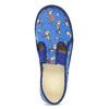 Granatowe kapcie dziecięce wdeseń piłkarski bata, niebieski, 279-9129 - 17