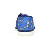 Granatowe kapcie dziecięce wdeseń piłkarski bata, niebieski, 279-9129 - 15