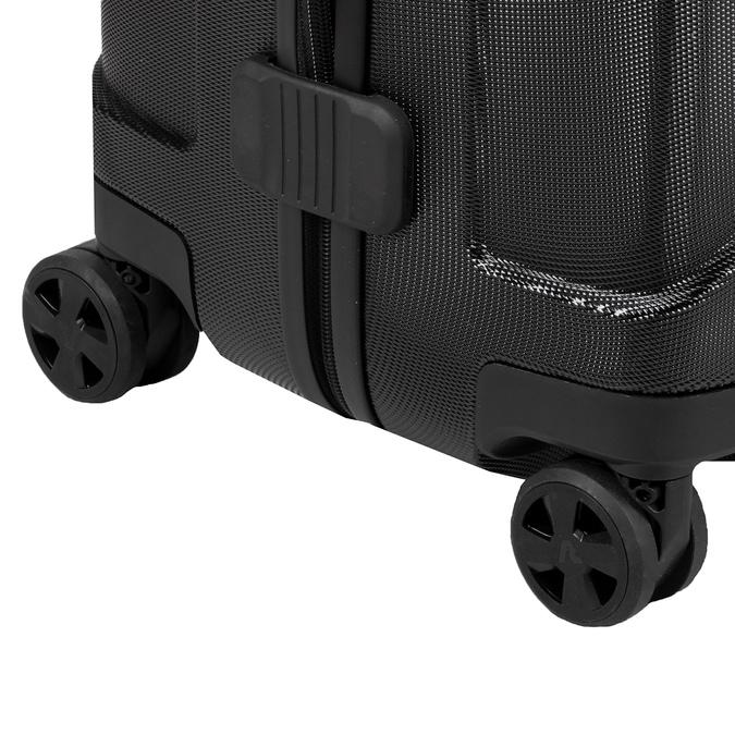 Średnia twarda walizka czarna roncato, czarny, 960-6736 - 16