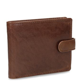 Brązowy portfel męski ze skóry bata, brązowy, 944-3202 - 13