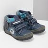 Niebieskie botki dziecięce na rzepy, niebieski, 111-9628 - 26