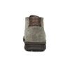Skórzane obuwie męskie za kostkę, zprzeszyciami bata, szary, 843-2640 - 15