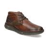 Skórzane obuwie męskie za kostkę bata, brązowy, 846-4718 - 13