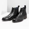 Skórzane obuwie typu Chelsea bata, czarny, 894-6400 - 16