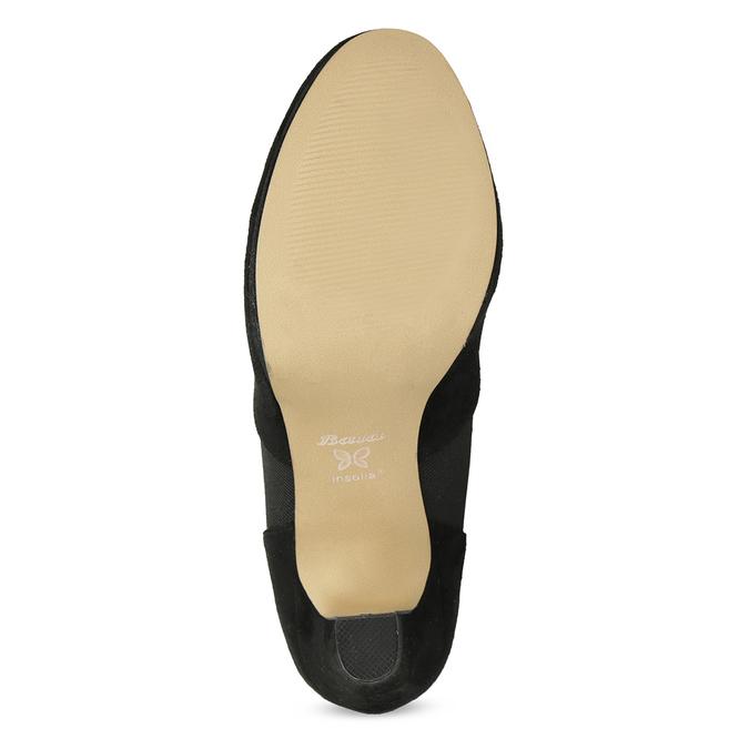 Czarne botki na szpilkach bata, czarny, 799-6624 - 18