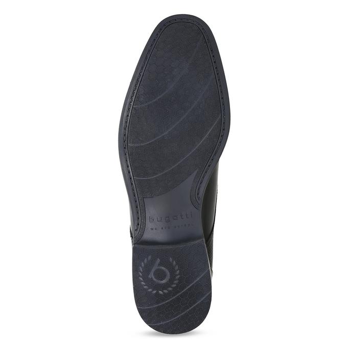 Czarne skórzane półbuty bugatti, czarny, 826-6052 - 18