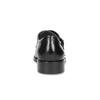 Męskie buty typu Monk z czarnej skóry bata, czarny, 824-6632 - 15