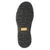 Skórzane obuwie męskie typu slip-on zprzeszyciami camel-active, czarny, 816-6011 - 18