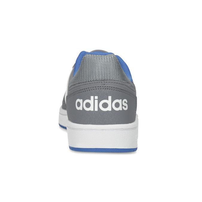 Szare nieformalne trampki dziecięce adidas, szary, 401-2337 - 15
