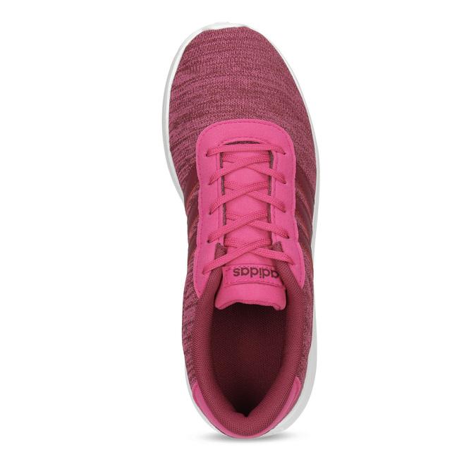 Różowe trampki dziecięce wmelanż adidas, różowy, 409-5188 - 17