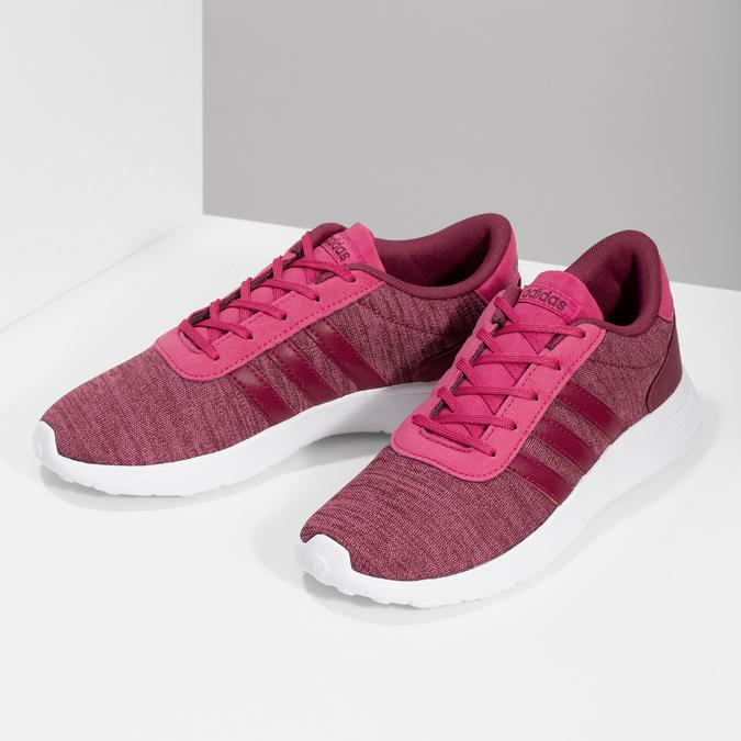Różowe trampki dziecięce wmelanż adidas, różowy, 409-5188 - 16