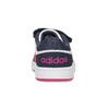 Białe trampki dziecięce na rzepy adidas, multi color, 101-1194 - 15