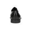 Czarne skórzane półbuty męskie typu angielki bata, czarny, 824-6891 - 15