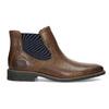 Skórzane obuwie męskie typu chelsea bata, brązowy, 826-3865 - 19
