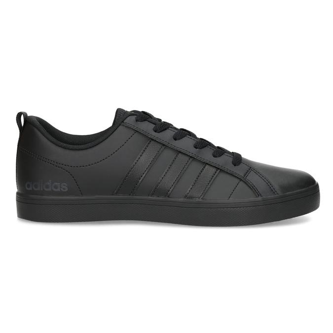 Czarne trampki męskie na płaskiej podeszwie adidas, czarny, 801-6236 - 19