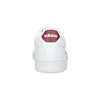 Białe trampki męskie zbordowymi elementami adidas, biały, 801-5378 - 15