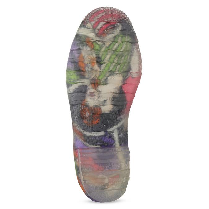 Komiksowe kalosze damskie bata, multi color, 592-0606 - 18