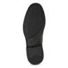 Brązowe skórzane mokasyny wstylu penny loafers comfit, brązowy, 814-3627 - 18
