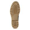 Szare skórzane obuwie damskie typu chelsea camel-active, szary, 616-2064 - 18