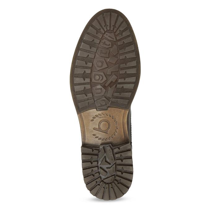 Sznurowane obuwie męskie za kostkę bugatti, brązowy, 826-4056 - 18