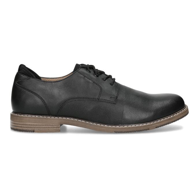 Granatowe półbuty męskie bata-red-label, czarny, 821-9609 - 19