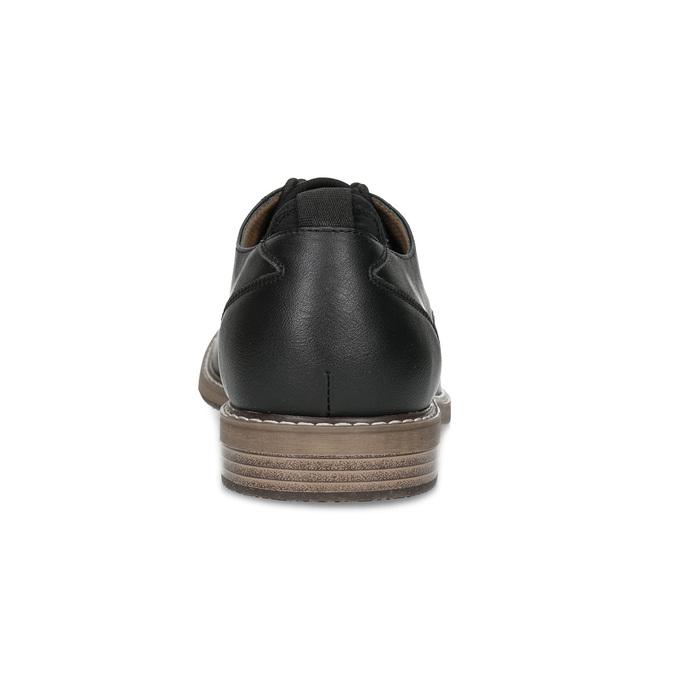 Granatowe półbuty męskie bata-red-label, czarny, 821-9609 - 15