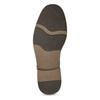 Jasnobrązowe półbuty męskie bata-red-label, brązowy, 821-3609 - 18