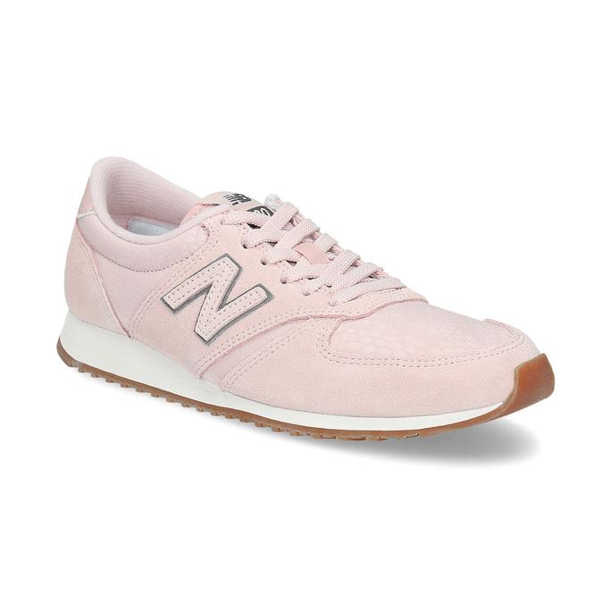 Różowe zamszowe trampki damskie new-balance, różowy, 503-5172 - 13
