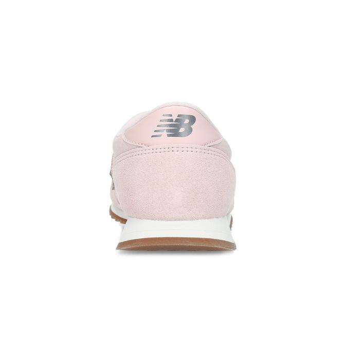 Różowe zamszowe trampki damskie new-balance, różowy, 503-5172 - 15