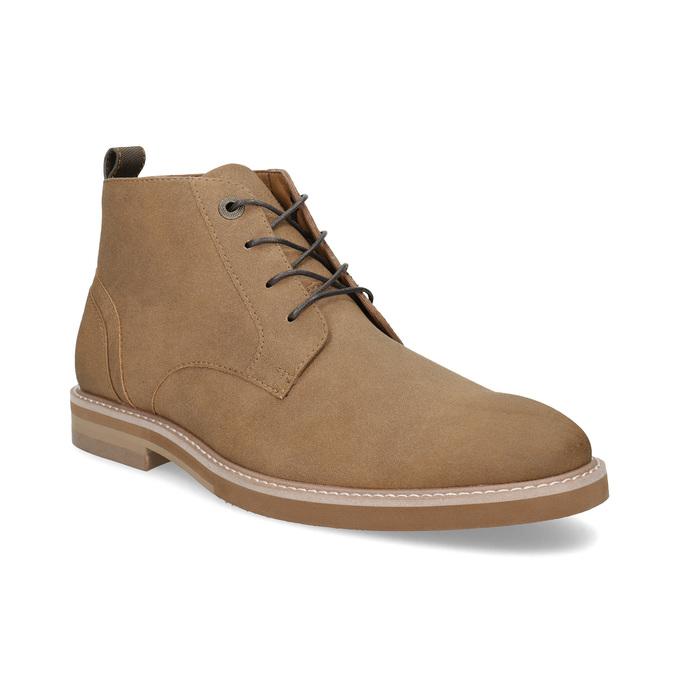 Beżowe obuwie męskie za kostkę bata-red-label, brązowy, 821-3608 - 13