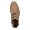 Beżowe obuwie męskie za kostkę bata-red-label, brązowy, 821-3608 - 17