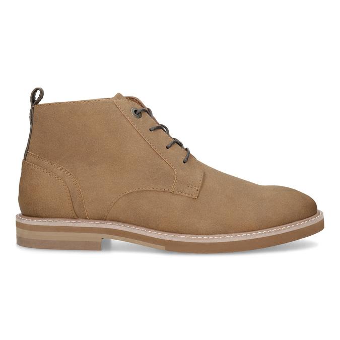 Beżowe obuwie męskie za kostkę bata-red-label, brązowy, 821-3608 - 19