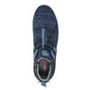Granatowe wsuwane trampki bata-red-label, niebieski, 841-9620 - 17