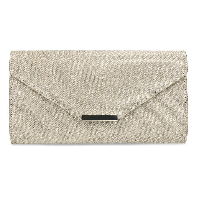 Złota kopertówka damska bata, złoty, 969-8701 - 26