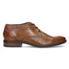 Brązowe skórzane półbuty męskie bugatti, brązowy, 826-3078 - 19