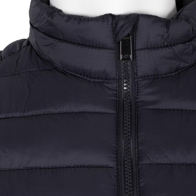 Granatowa pikowana kurtka męska bata, niebieski, 979-9369 - 16