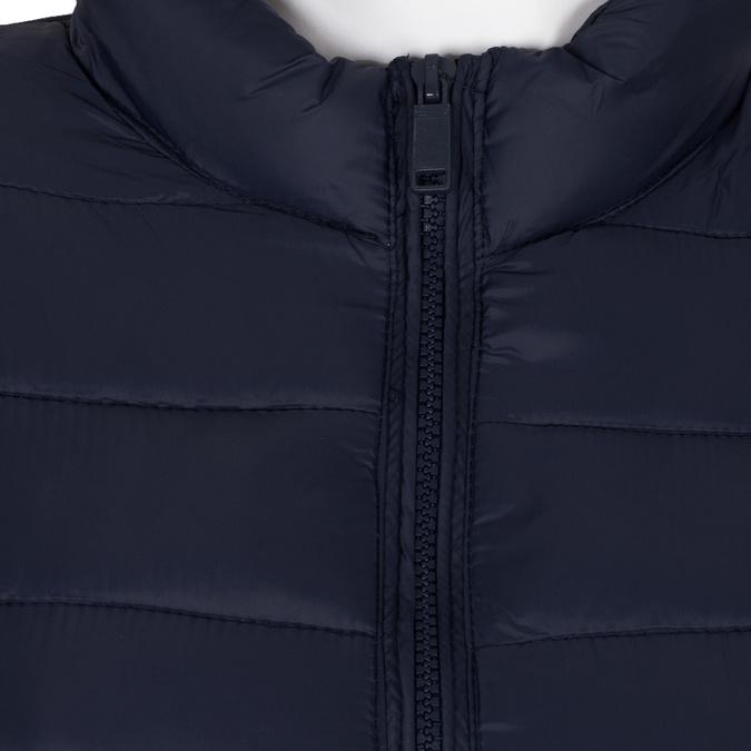 Granatowa pikowana kurtka damska bata, niebieski, 979-9361 - 16