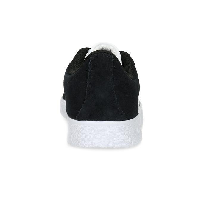 Czarne skórzane trampki dziecięce adidas, czarny, 403-6361 - 15