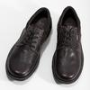 Skórzane półbuty męskie na grubej podeszwie bata, brązowy, 826-4973 - 16