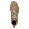 Brązowe skórzane obuwie męskie za kostkę weinbrenner, brązowy, 846-3719 - 17
