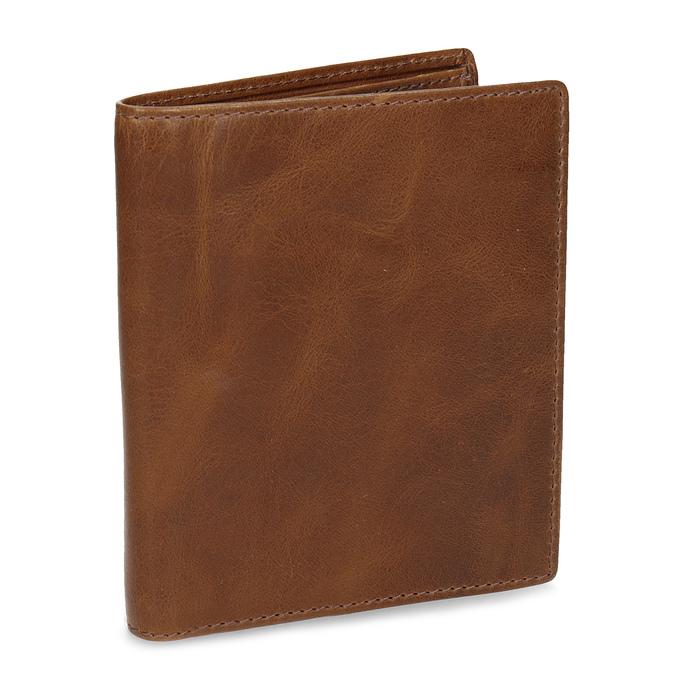 Brązowy skórzany portfel męski bata, brązowy, 944-3217 - 13