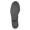 Skórzane botki damskie zfuterkiem bata, brązowy, 694-4669 - 18