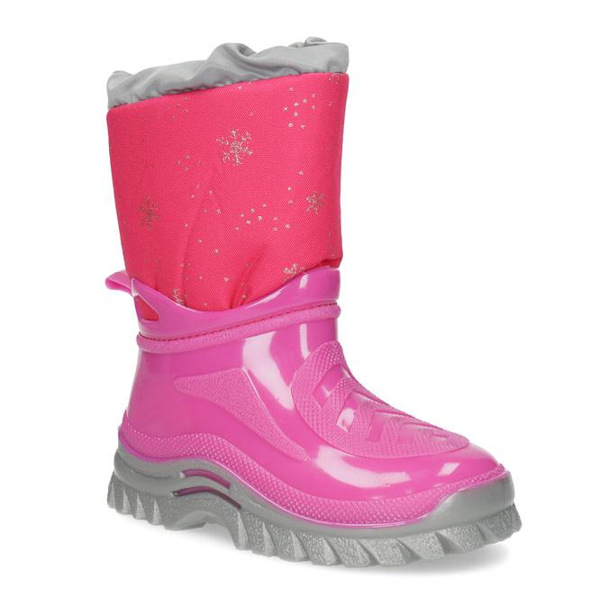 Różowe śniegowce zpłatkami śniegu mini-b, różowy, 292-5301 - 13
