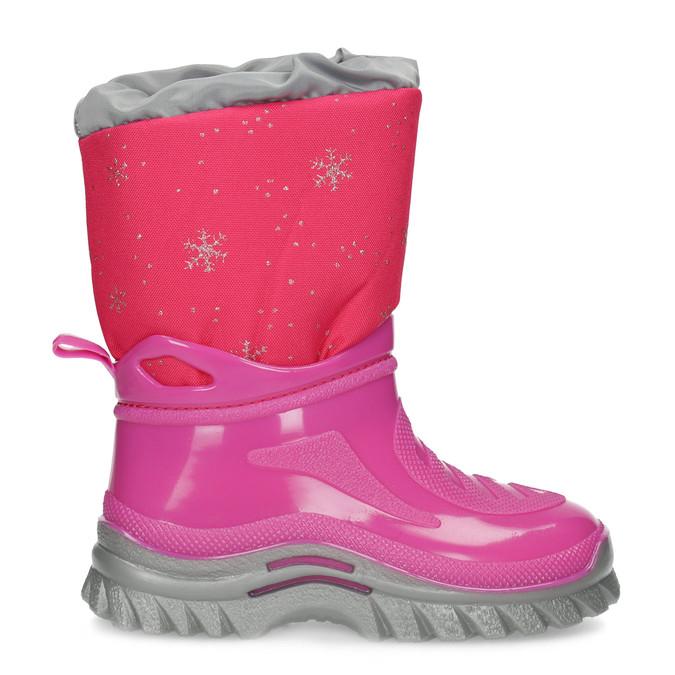 Różowe śniegowce zpłatkami śniegu mini-b, różowy, 292-5301 - 19