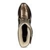 Damskie śniegowce brązowe bata, brąz, 599-8626 - 17