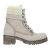 Skórzane buty zimowe zfuterkiem weinbrenner, beżowy, 696-3336 - 19
