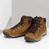 Brązowe skórzane obuwie męskie za kostkę caterpillar, brązowy, 806-3107 - 16