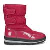 Czerwone śniegowce damskie na czarnej podeszwie bata, czerwony, 599-5625 - 19