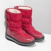 Czerwone śniegowce damskie na czarnej podeszwie bata, czerwony, 599-5625 - 26